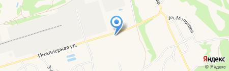 Библиотека №8 на карте Брянска