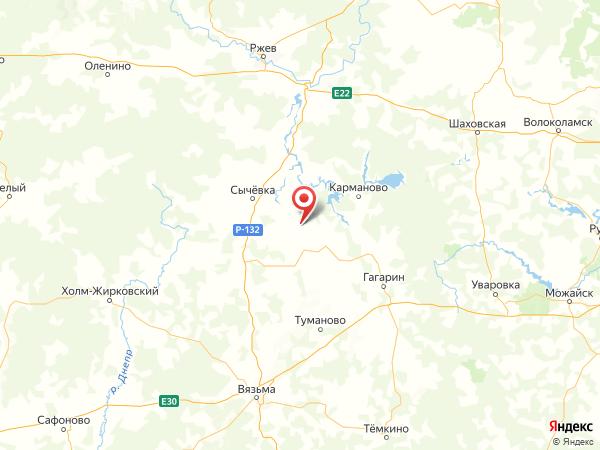 поселок Софьино на карте