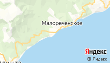 Отели города Солнечногорское на карте