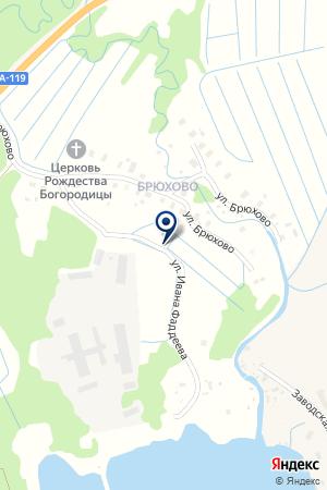 МЕДВЕЖЬЕГОРСКИЙ МОЛОКОЗАВОД на карте Медвежьегорска