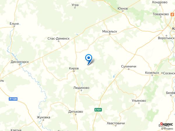 село Волое на карте