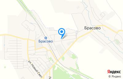 Местоположение на карте пункта техосмотра по адресу Брянская обл, рп Локоть, пер Транспортный, д 7
