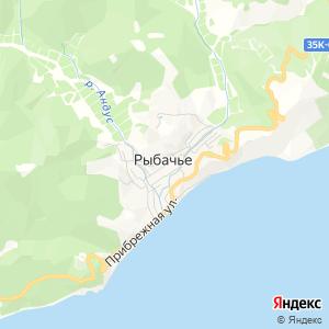 Карта города Рыбачьего
