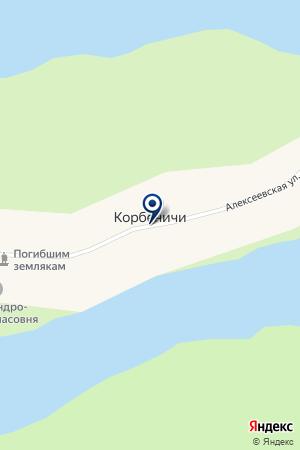 КОРБЕНИЧИСКИЙ ФЕЛЬДШЕРСКО-АКУШЕРСКИЙ ПУНКТ на карте Тихвина
