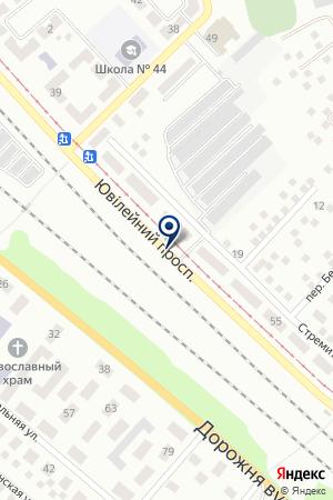 SHOPLINZA на карте Юбилейного