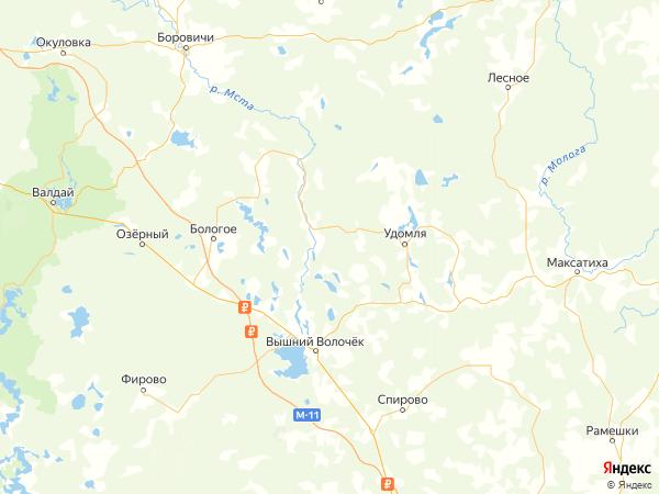 деревня Александрово на карте