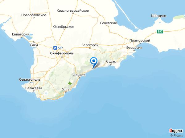 курорт Канака на карте