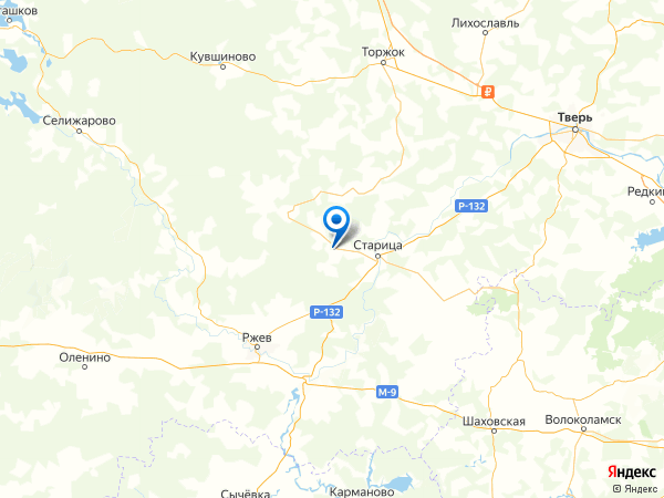 деревня Новое на карте