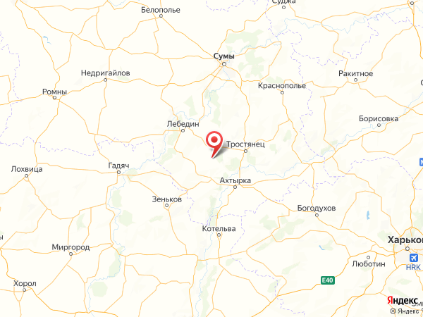 село Мартыновка на карте