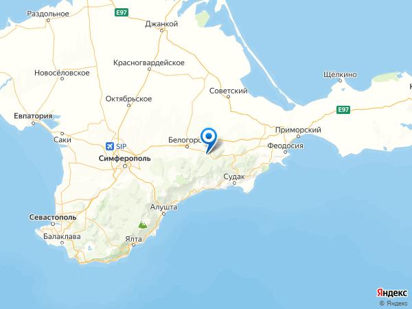 село Горлинка на карте