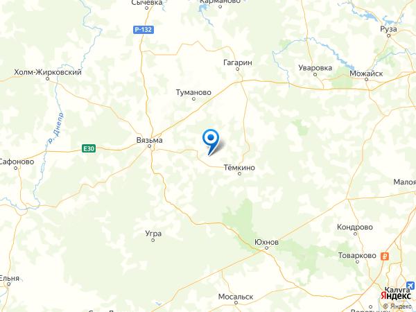 деревня Осипово на карте