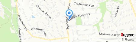 Середня загальноосвітня школа №105 на карте Днепропетровска