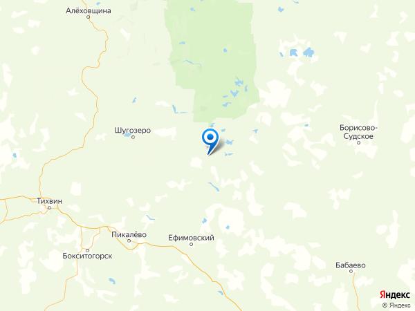 деревня Жары на карте