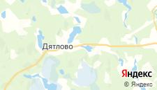 Отели города Прохово на карте