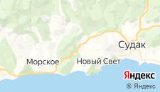 Гостиницы города Веселое на карте