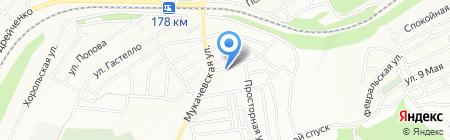 Середня загальноосвітня школа №92 на карте Днепропетровска