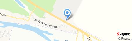 АЗС ЛУКОЙЛ на карте Горяновского