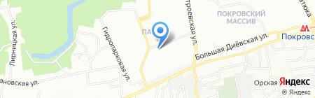 Хелг на карте Днепропетровска