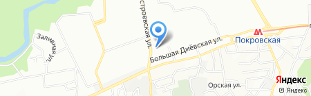 3G Mobile Service на карте Днепропетровска