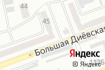 Схема проезда до компании RULLON в Днепре