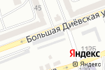 Схема проезда до компании Outside в Днепре