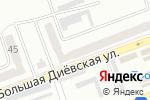 Схема проезда до компании Ковчег в Днепре