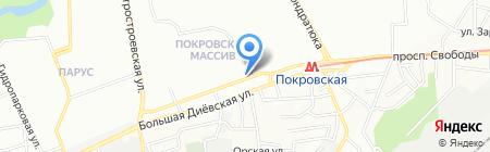City Pay на карте Днепропетровска