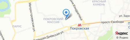Дошкільний навчальний заклад №282 Золота рибка на карте Днепропетровска