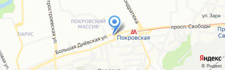 Имидж на карте Днепропетровска