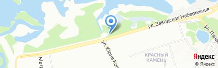 Прибой на карте Днепропетровска