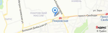 Фахівець на карте Днепропетровска