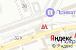 Схема проезда до компании Магазин бытовой химии и канцтоваров в Днепре