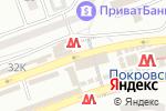 Схема проезда до компании Магазин цветов в Днепре