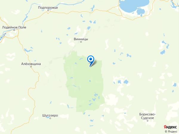 поселок Курба на карте