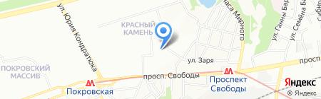 Идеал на карте Днепропетровска