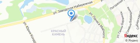 Оптика на карте Днепропетровска