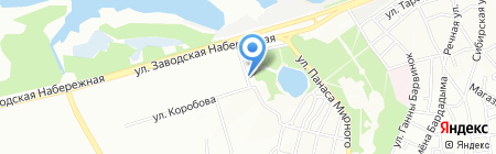Арег на карте Днепропетровска