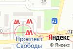 Схема проезда до компании Келих в Днепре