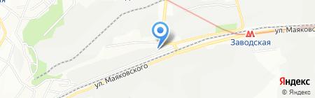 Автодизель на карте Днепропетровска