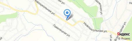 Красное поле на карте Днепропетровска