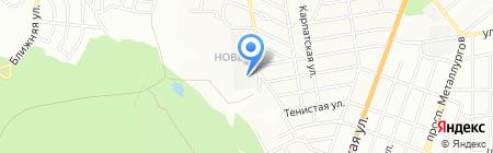 Днепропетровский хлебзавод №9 на карте Днепропетровска