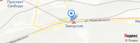 Дверной стиль на карте Днепропетровска