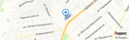 Компьютеры на карте Днепропетровска