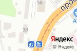Схема проезда до компании КОРЗИНКА в Днепре