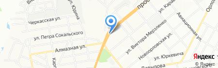 Bon Appetit на карте Днепропетровска