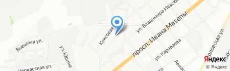 Радар на карте Днепропетровска