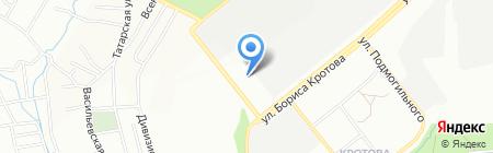 Технооптторг-Трейд на карте Днепропетровска