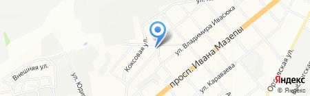 Сьомий на карте Днепропетровска