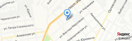 Середня загальноосвітня школа №74 на карте Днепропетровска