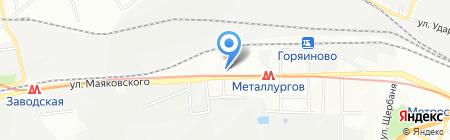 Зеланд на карте Днепропетровска